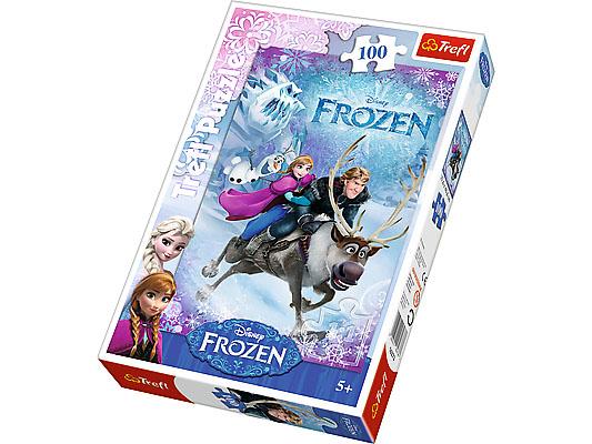Puzzle Disney, 100 dílků, Frozen - Ledové království