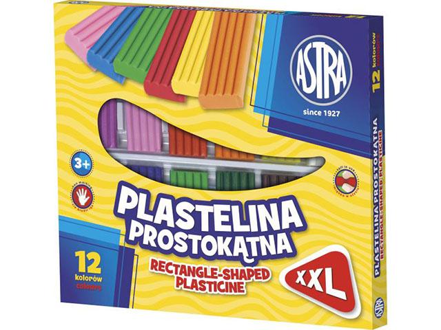 Plastelína ASTRA hranatá 10 bare2