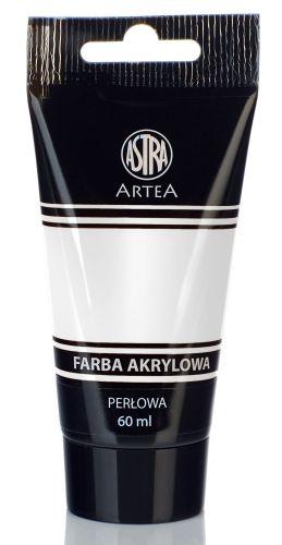 Akrylová barva Astra tuba 60 ml - perlová