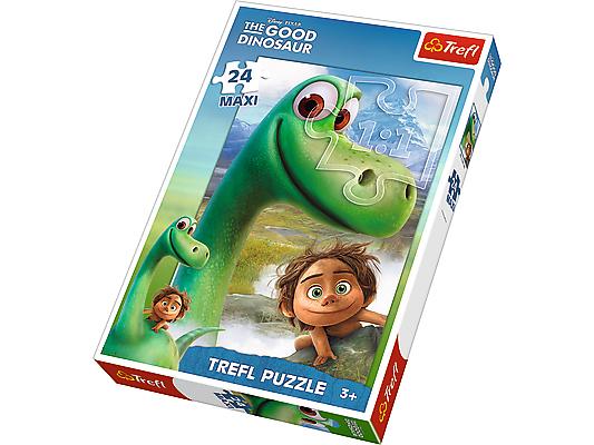 Puzzle 24 Maxi TREFL Disney - Dobrý dinosaurus