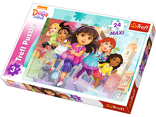 Puzzle 24 Maxi TREFL Disney - Dora
