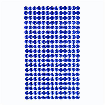 Krystalky samolepicí, 6 mm, 260 kusů - krémové