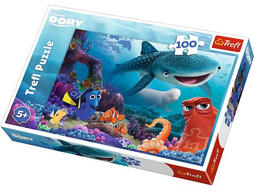 Puzzle Disney, 100 dílků, Hledá se Dory