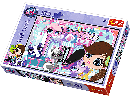 Puzzle 160 TREFL - Littlest Pet Shop