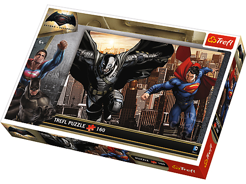 Puzzle 160 TREFL - Batman vs Superman