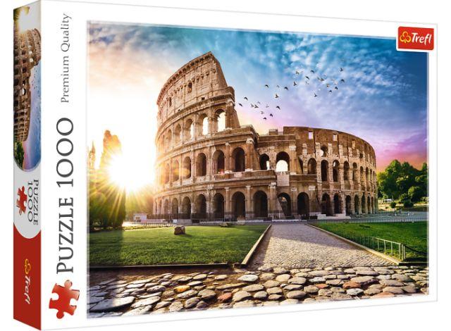 Puzzle 1000 dílků - Koloseum a slunce