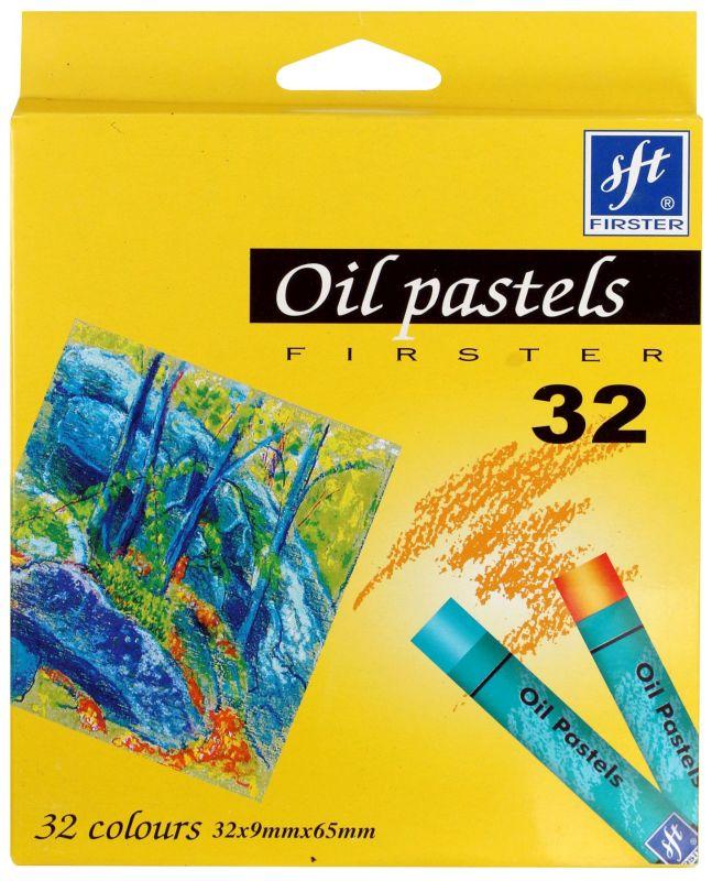 Olejové pastely FIRSTER - 32 barev