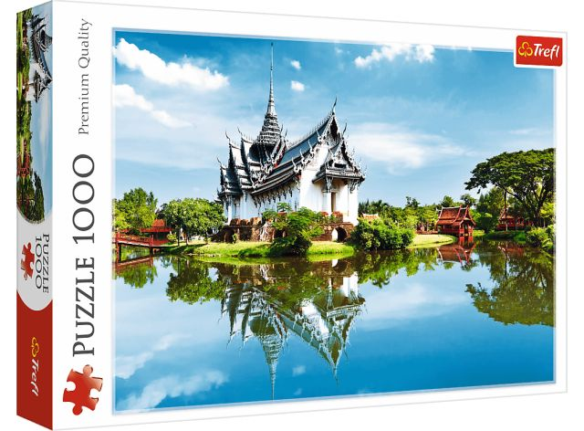 Puzzle 1000 dílků - Palác Sanphet Prasat