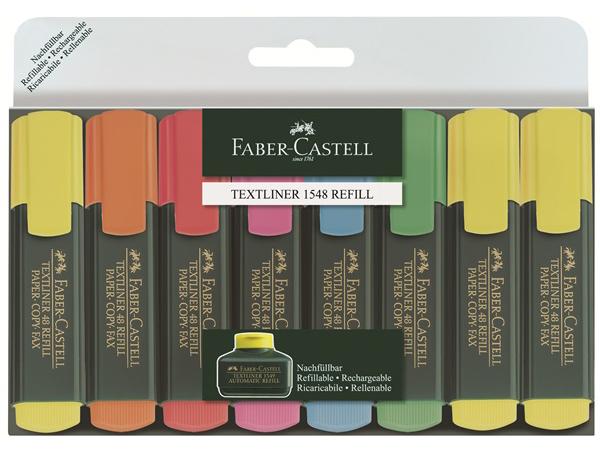 Zvýrazňovač FABER-CASTELL 1548 - 8 kusů