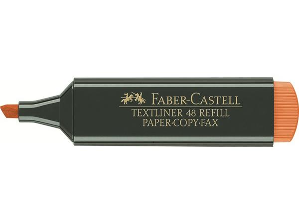 Zvýrazňovač FABER-CASTELL 1548 - oranžový
