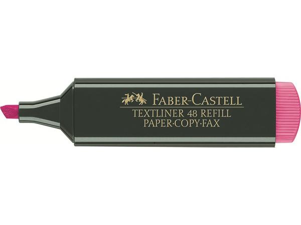 Zvýrazňovač FABER-CASTELL 1548 - růžový