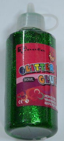 Glitrové lepidlo, 90 ml - zelené