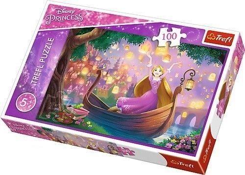 Puzzle Disney, 100 dílků, Cars - Princess