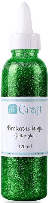 Glitrové lepidlo, 120 ml - tmavě zelené