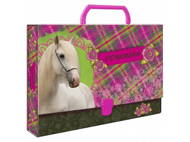 Složka s rukojetí DERFORM - Koně
