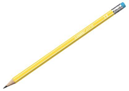 STABILO 160 tužka s gumou 2B - žlutá