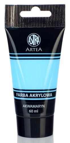 Akrylová barva Astra tuba 60 ml - akvamarín