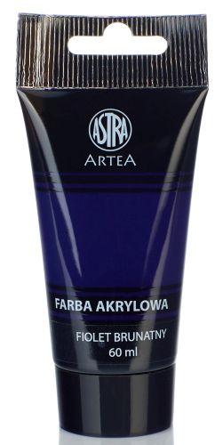 Akrylová barva Astra tuba 60 ml - sytě fialová