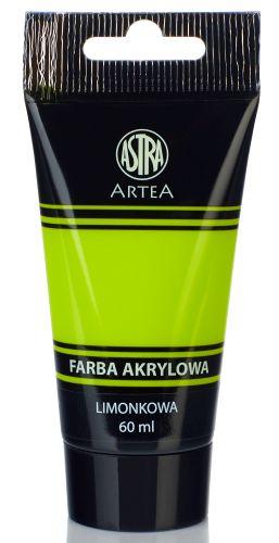 Akrylová barva Astra tuba 60 ml - zelená limetka