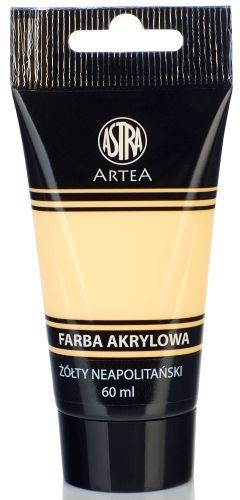 Akrylová barva Astra tuba 60 ml - Neapolitan žlutá