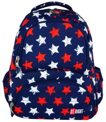 Školní batoh 43 cm BP23, objem 23 litrů - hvězdičky