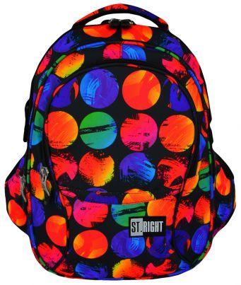 Školní batoh 43 cm BP23, objem 23 litrů - barevné koule
