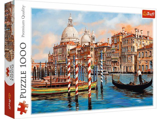 Puzzle 1000 dílků - Odpoledne v Benátkách