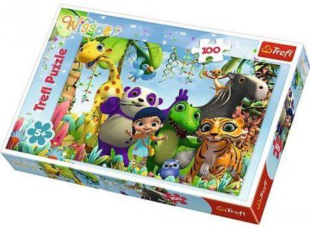Puzzle Disney, 100 dílků - Wissper a přátelé