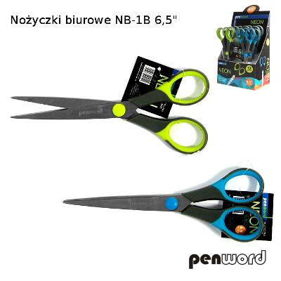 Kancelářské nůžky NB-1B, 16,5 cm