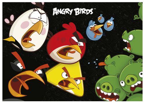 Podložka na stůl Angry Birds, 49 x 34 cm