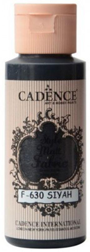 Barva na textil matná CADENCE - 59 ml černá