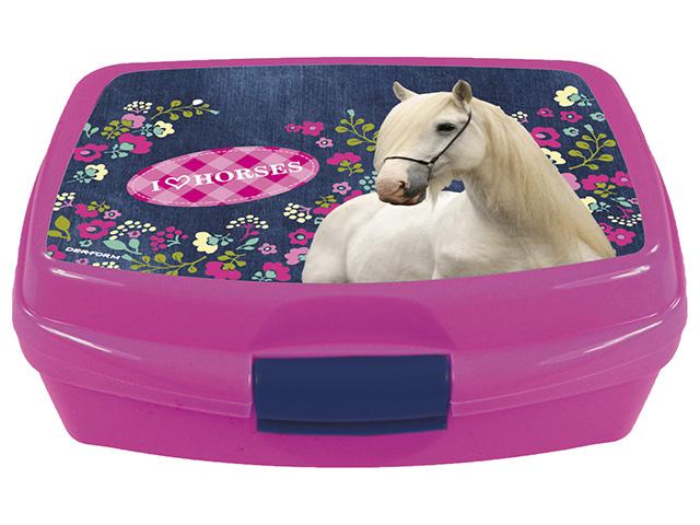 Svačinový box - s motivem koně