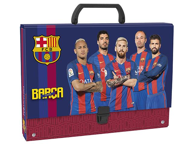 Složka s rukojetí DERFORM - FC Barcelona