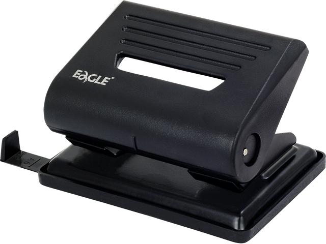 Děrovačka EAGLE 837 černá, 25 listů