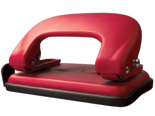 Děrovačka TETIS  GD008-AC kovová červená
