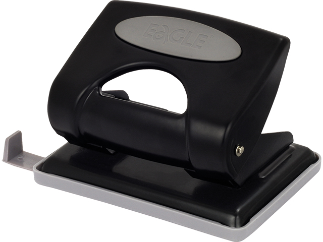 Děrovačka EAGLE P6108B černá, 25 listů