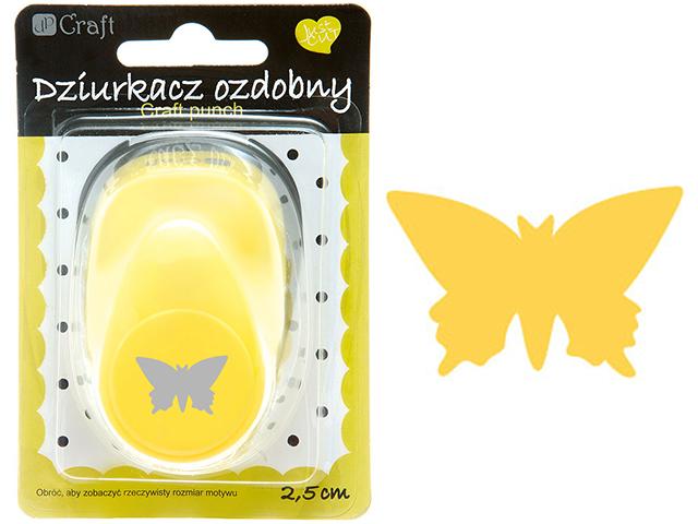 Ozdobná děrovačka DPCraft 2,5 cm - motýl