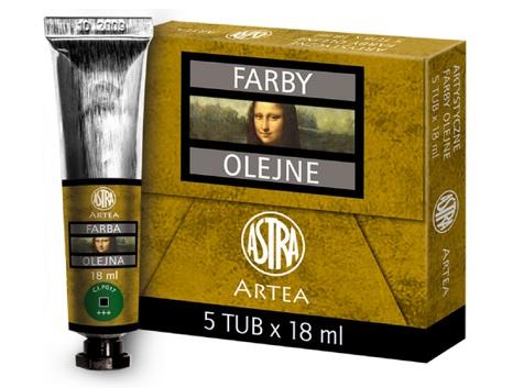 Profi olejové barvy 18 ml ARTEA - zelený chrom