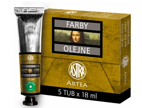 Profi olejové barvy 18 ml ARTEA - zelená Veronese