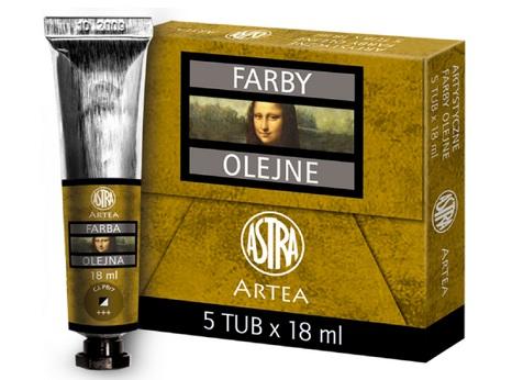 Profi olejové barvy 18 ml ARTEA - siena přírodní