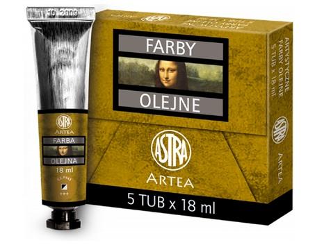 Profi olejové barvy 18 ml ARTEA - okr zlatý