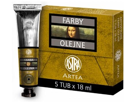 Profi olejové barvy 18 ml ARTEA - přírodní
