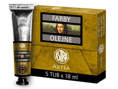 Profi olejové barvy 18 ml ARTEA - umbra pálená