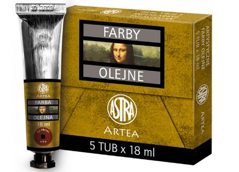 Profi olejové barvy 18 ml ARTEA - červeň Mars
