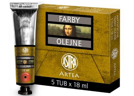 Profi olejové barvy 18 ml ARTEA - kadmium červená