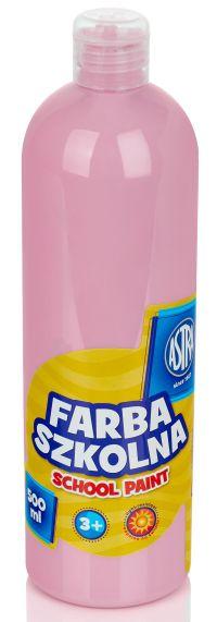 Světle růžová temperová barva Astra 500 ml