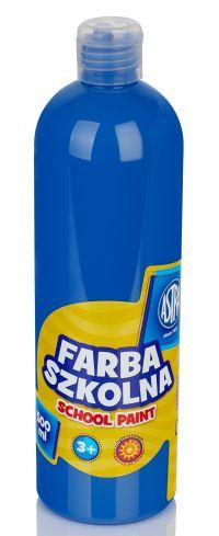 Tmavě modrá temperová barva Astra 500 ml