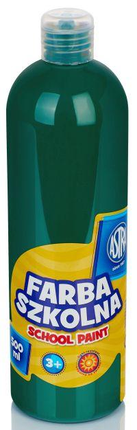 Tmavě zelená temperová barva Astra 500 ml