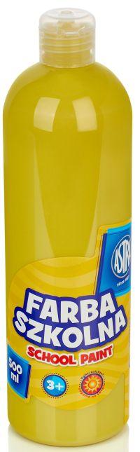 Žlutá temperová barva Astra 500 ml