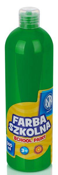 Světle zelená temperová barva Astra 500 ml